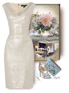 """""""Beat the Winter Blues"""" by anjelakewell ❤ liked on Polyvore featuring Olympia Le-Tan, Badgley Mischka, Lauren Ralph Lauren, Honora, women's clothing, women's fashion, women, female, woman and misses"""