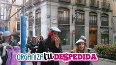 Recorriendo las calles de Madrid en una divertida gymkana de Organizatudespedida, especialmente pensada para despedidas de soltera
