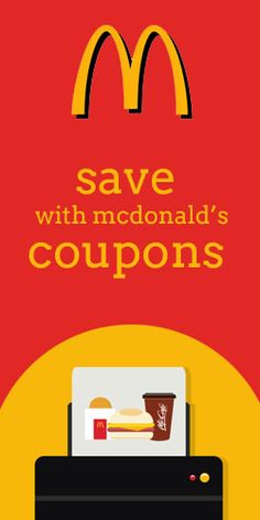 #Save With McDonald's #Coupons on your Smartphone!