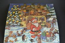 Original DDR Weihnachtskalender Adventskalender selbstbefüllen RARITÄT - Motiv 9