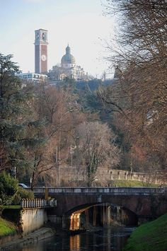Monte Berico, Vicenza, Italy. Had picnics with my husband there it was Beautiful.