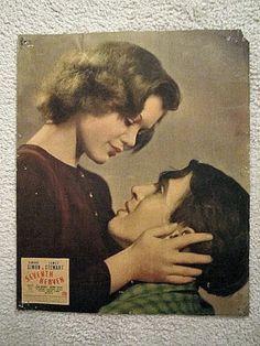 SEVENTH-HEAVEN-1937-JAMES-STEWART-SIMONE-SIMON-RARE-PORTRAITJUMBO-LOBBY-CARD