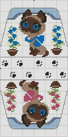 Thrilling Designing Your Own Cross Stitch Embroidery Patterns Ideas. Exhilarating Designing Your Own Cross Stitch Embroidery Patterns Ideas. Beaded Cross Stitch, Cross Stitch Charts, Cross Stitch Designs, Cross Stitch Embroidery, Embroidery Patterns, Cross Stitch Patterns, Cross Stitch For Kids, Cross Stitch Animals, Cat Crafts