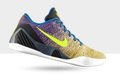 Nike Kobe 9 Elite iD Multicolor and Color Fade Options Available Now on http://www.kixandthecity.com