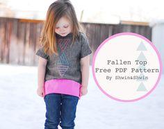 Shwin: The Fallen Top {Free PDF Pattern}