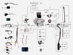 wiring diagram for chinese 110 atv - the wiring diagram ...