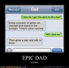 Haha. Parents.