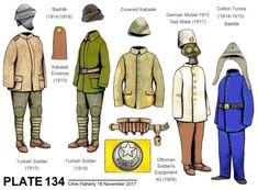 Ottoman Uniforms - WW1 OTTOMAN ARMY UNIFORMS Turkish Soldiers, Turkish Army, Army Uniform, Military Uniforms, Cotton Tunics, Ottoman Empire, Military Art, Central Asia, Dieselpunk