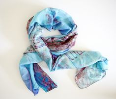 ''Bridge & Bloom''all tied up - scarf