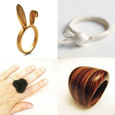 Rings from Etsy