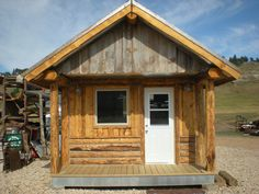Mountain Wood Works Inc. Rustic Mini Cabins | Pages Black Hills Log Home Builders
