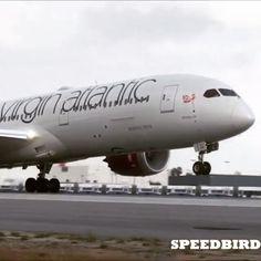 787 incoming!! Superb close departure by @speedbirdhd of Virgin Atlantic Boeing B787-9 @ LAX ! #instagramaviation #virginatlantic