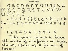 Library Hand, the Fastidiously Neat Penmanship Style Made for Card Catalogsrom A Library Primer.