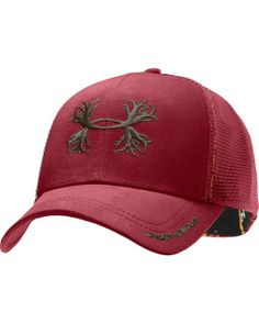 Under Armour Antler Mesh Cap http://www.countryoutfitter.com/products/51440-antler-mesh-cap