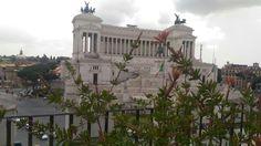 L'Altare della Patria visto dalla terrazza Civita