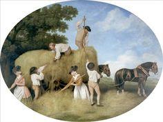 George Stubbs 'Haycarting'