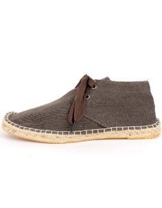 Coffee Canvas Sneakers. Men's shoes