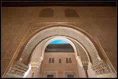 Palacio de Comares - La Alhambra  #laAlhambradeldia 134  http://www.flickr.com/photos/salvadorfornell/8099799438/  www.salvadorfornell.com