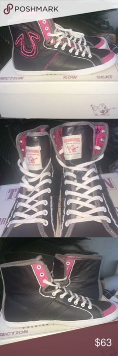 True religion women's shoes Mint condition. Barely worn. Comes with box True Religion Shoes Sneakers