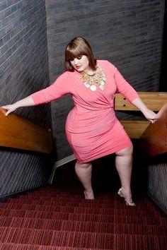 Curvy girl sexy fashion