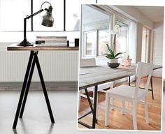 Ikea Vika Lerberg DIY Tafel | Inspiratie