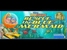 Team Umi Zoomi Rescue the Blue Mermaid Umi City Mighty Missions Full Game English - YouTube