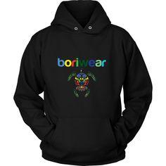 Boriwear Turtle Hoodie- UNISEX