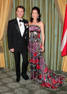 Crown Princess of Denmark Mary Their Royal Highnesses Crown Prince Frederik and Crown Princess Mary of Denmark attend the American-Scandinavian Foundation Dinner at The Pierre Hotel on March 27, 2009 in New York City.  (Photo by Andrew H. Walker/Getty Images) *** Local Caption *** Crown Prince of Denmark Frederik;Crown Princess of Denmark Mary