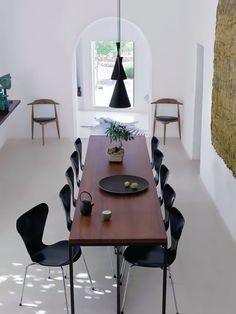 Sillas Jacobsen Series 7 de Arne Jacobsen
