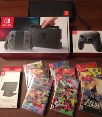 Looking for a Nintendo switch to purchase? Great selections of Nintendo Switch to choose from at a great price get them while you can. Nintendo 3ds, Nintendo Switch Splatoon 2, Buy Nintendo Switch, Nintendo Switch System, Carte Pokemon Rare, Ever After High Games, Nintendo Switch Accessories, Mundo Dos Games, Makeup Tutorials