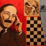 """Stefan Zweig, """"On ne nous faisait rien - on nous laissait seulement en face du néant, car il est notoire qu'aucune chose au monde n'oppresse davantage l'âme humaine. """" le joueur d échecs"""