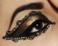 Mascarade Make-up Ich glaube nicht dass ich etwas so Detailliertes machen könnte Neverthel Makeup Geek, Eyeshadow Makeup, Makeup Art, Beauty Makeup, Hair Makeup, Makeup Ideas, Bronze Eyeshadow, Blush Makeup, Makeup Tutorials