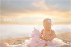 Amie Pendle Photography » blog beach, fashion, woman senior girl portraits sand sunset pink mother daughter, baby toddler