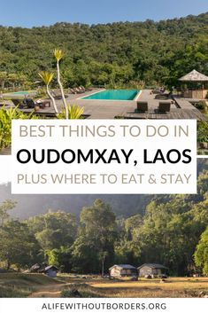 Here are my top things to do in Oudomxay, Laos – including hiking, waterfalls, caves and ethnic village visits. Plus, plenty of Lao textiles and handicrafts. Oudomxay | Oudomxai | Muang Xai | Laos | LaosTravel | ALWB Laos Culture, Stuff To Do, Things To Do, Laos Travel, Laos Food, Without Borders, Vientiane, Luang Prabang, Caves