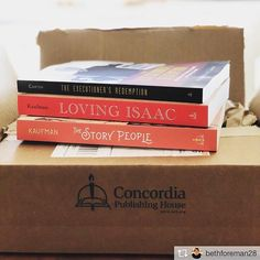 Repost from @bethforeman28  Super excited to get this box! Adding these to my growing 2018 TBR stack. Yay @concordiapub for great new stuff and some fiction!! Excited to read @hmkstories! #readinglife #amreading #faithreading #christianreading #christianbooks #bookstagram  #books #booknerd #tbr