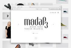 Diseño de la marca de ropa alternativa ModaP3.