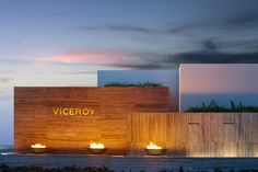 Viceroy Anguilla This 35-acre luxury resort site posed special wayfinding challenges for guests and staff alike, with its complex network of streets, villas, hotel and event space, outdoor activity areas and five food and beverage outlets.