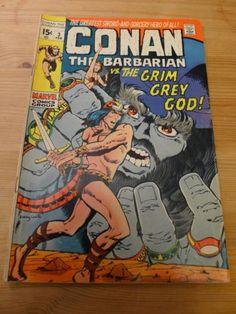 Comic Conan The Barbarian 3 1971 Marvel G VG | eBay