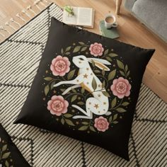 Entangled Floor Pillow Case Personalized Pillow Cases, Custom Pillow Cases, Custom Pillows, Floor Pillows, Throw Pillows, Laptop Skin, Original Artwork, Pillow Covers, Best Gifts