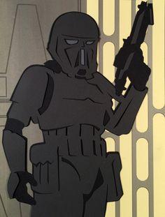 Deathtrooper Paper Cut - DocGold13