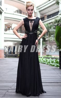 robe de soirée noir sirène