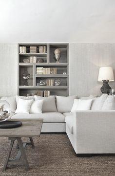 White corner sofa by Home Decor Interior Design