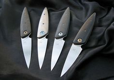 lerman custom knives | Friction folders - 2014
