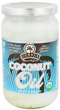 Buy Jungle Products - Organic Coconut Oil - 14 oz. at LuckyVitamin.com