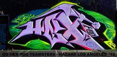 HEX TGO LOS ANGELES GRAFFITI MASTER ICON #HEX1 #GRAFFITI #STREETART