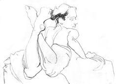 Drawing by Tom Byrne