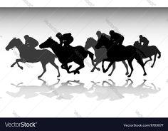 Sunset Silhouette, Horse Silhouette, Silhouette Vector, Line Art Vector, Color Vector, Free Vector Images, Vector Free, Woman Riding Horse, Kentucky Derby Race