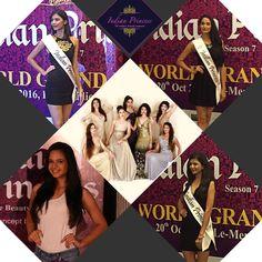 Indian Princesses enjoying media attention at a press conference held at The Lalit Mumbai. #IndianPrincess2016 #IP2016 #designer #fashion #modelling #inspiration #appreciation #beauty #love #ramp #runway