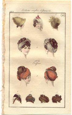 1803 - turbans, art du coiffeur