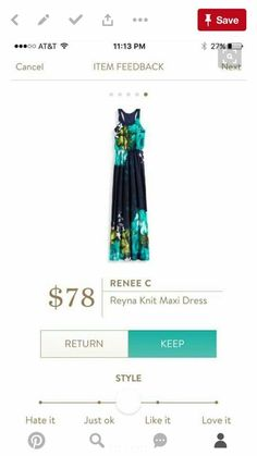 Love the fabric.  Have one maxi dress I think is pretty flattering so I think this one might be too?